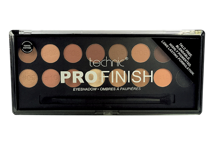 Technic Pro Finish Eyeshadow # Toffee Edition