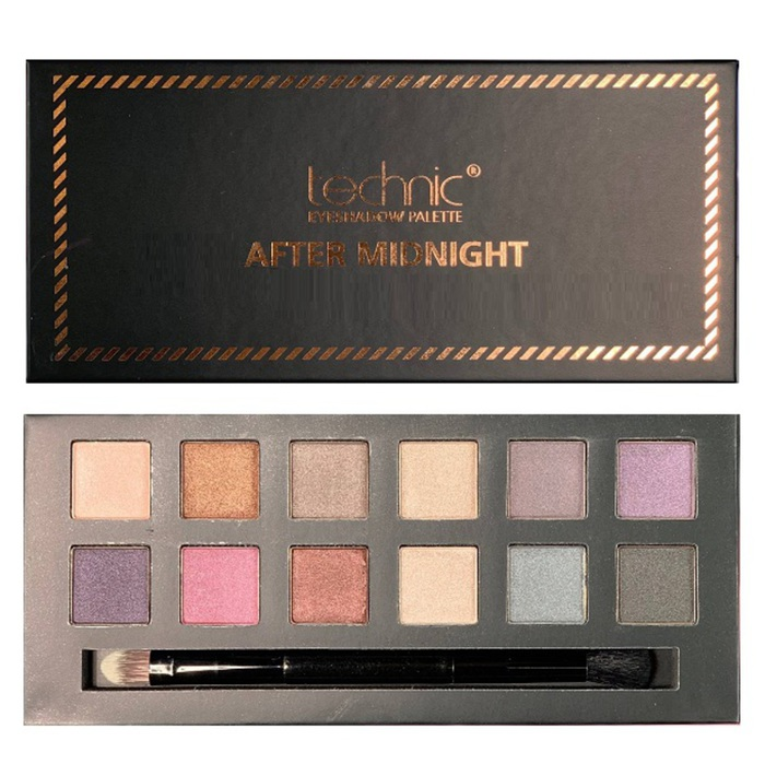 Technic 12 Colours Eyeshadow Palette # After Midnight