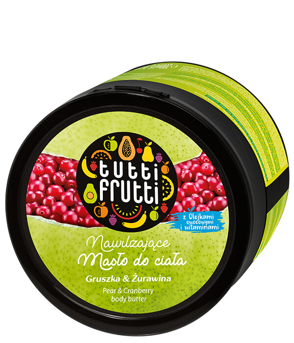 Farmona Tutti Frutti Pear & Cranberry Body Butter 200ml