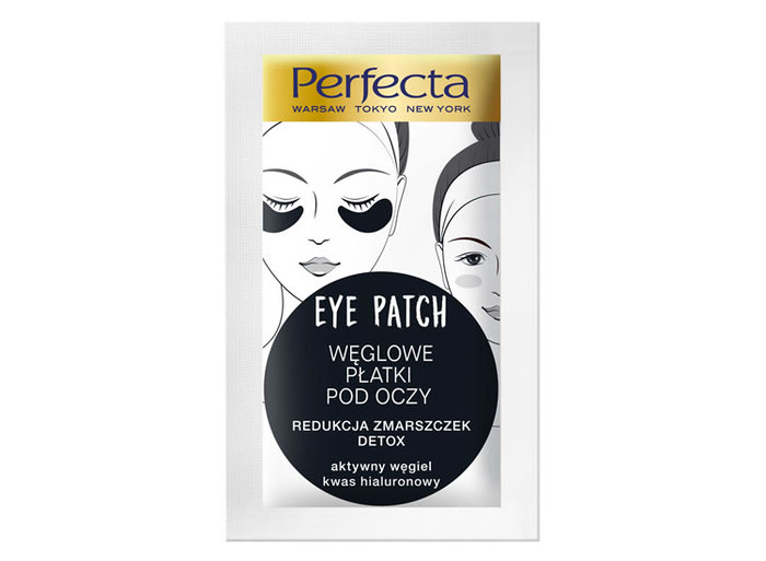 Perfecta Hydrogel Charcoal Under Eye Patches 2pcs