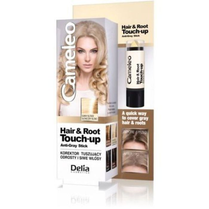 Delia Cameleo Concealer To Cover Rootw And Gray Hair # Black
