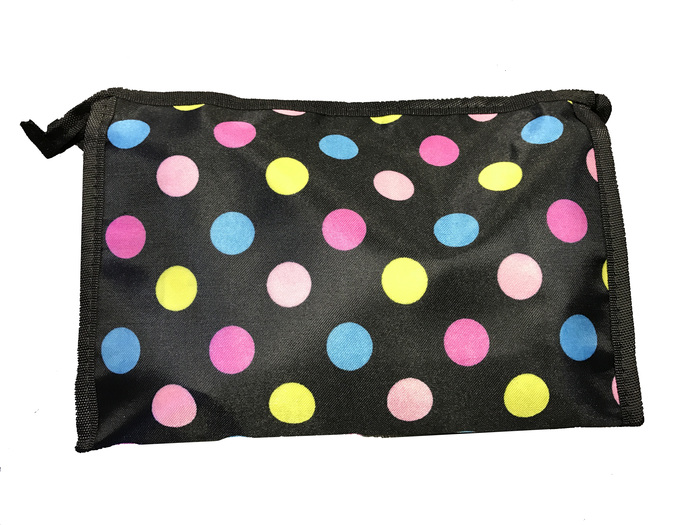 A2S Cosmetic Bag Colored Dots