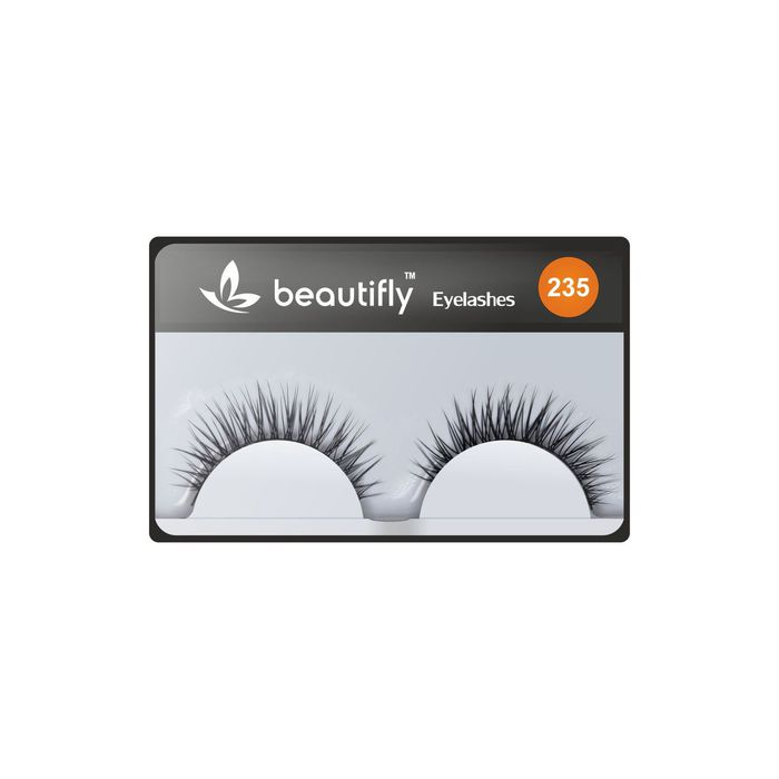 Beautifly False Eyelashes Natural Look # 235