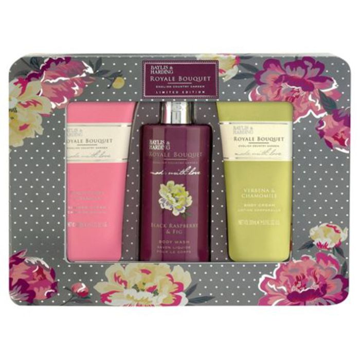 Baylis & Harding Royal Bouquet Limited Edition Gift Set - 3 Piece