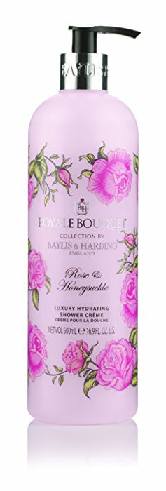 Baylis and Harding Royale Bouquet Rose and Honeysuckle Shower Crème 500ml