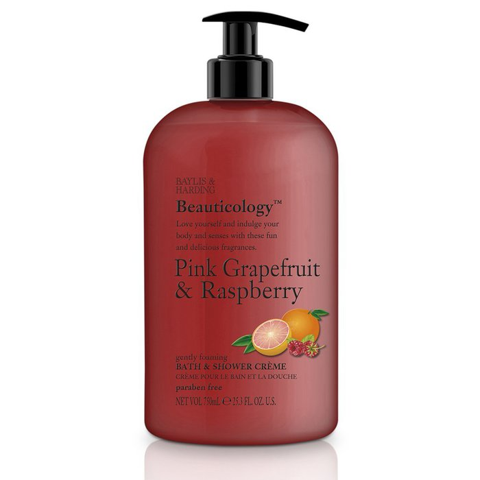 Baylis & Harding Beauticology Shower Creme Grapefruit & Raspberry 750ml