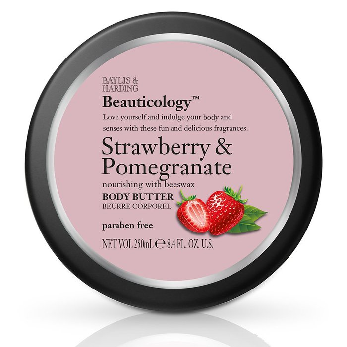 Baylis & Harding Beauticology Body Butter Strawberry & Pomegranate 250ml