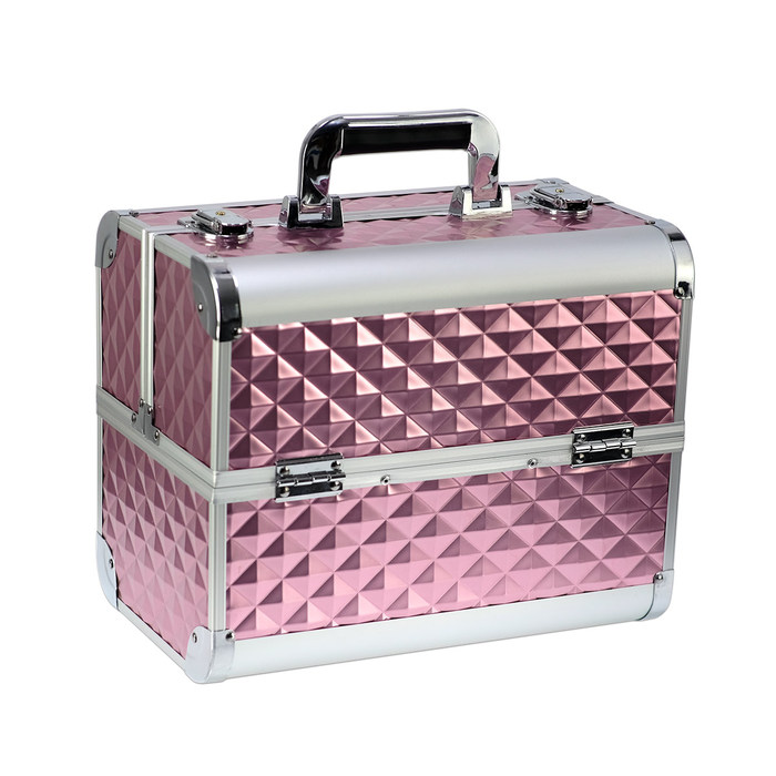 Makeupstores Diamond 3D Trunk Pink