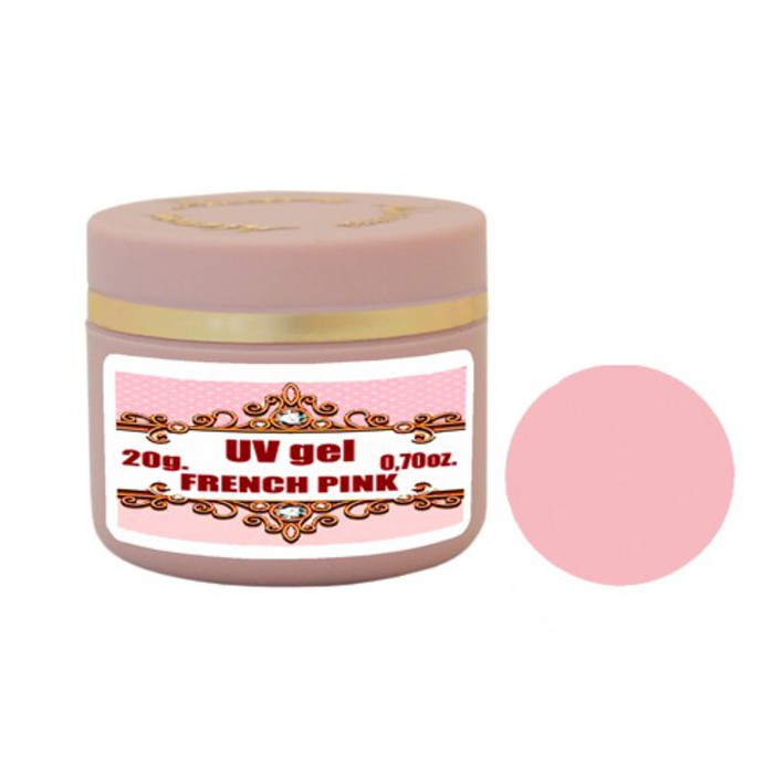 Alezori Building Gel FRENCH PINK 20gr