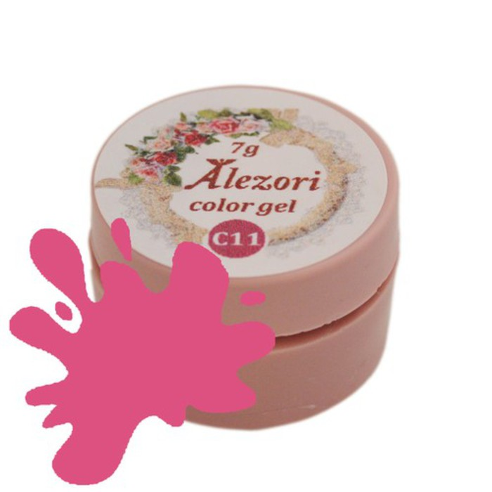 Alezori Colour Gel C11 SUNSET RED 7gr