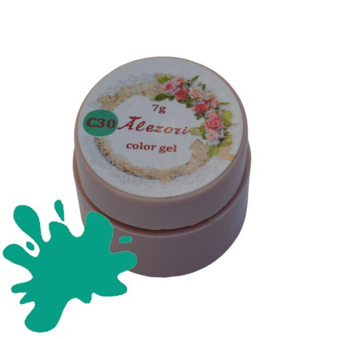 Alezori Colour Gel C30 MINT GREEN 7gr