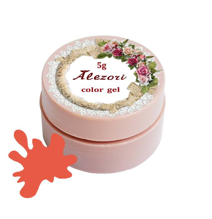 Alezori Colour Gel C22 SMOKED CORAL 5gr