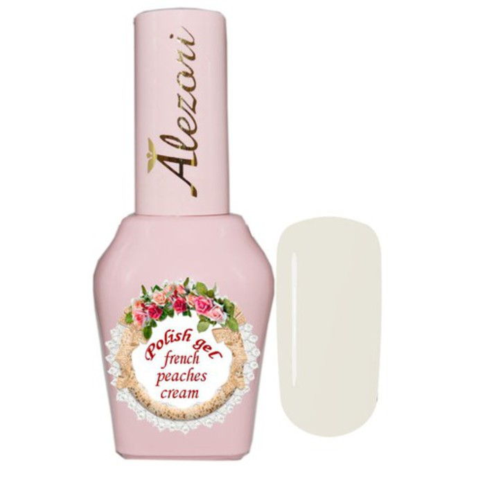 Alezori Gel Polish French Peaches Cream 15ml
