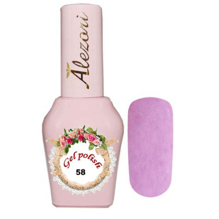 Alezori Gel Polish Fluff №58 15ml