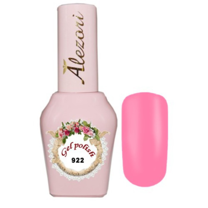 Alezori Gel Polish №922 15ml ΡΟΖ BARBIE