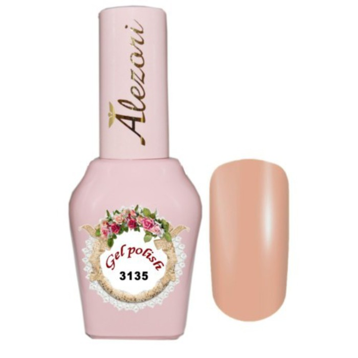Alezori Gel Polish №3135 15ml NUDE ΜΠΕΖ