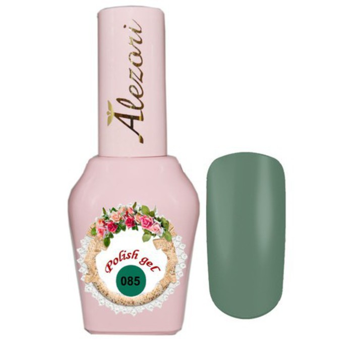 Alezori Gel Polish №085 15ml OLIVE GREEN