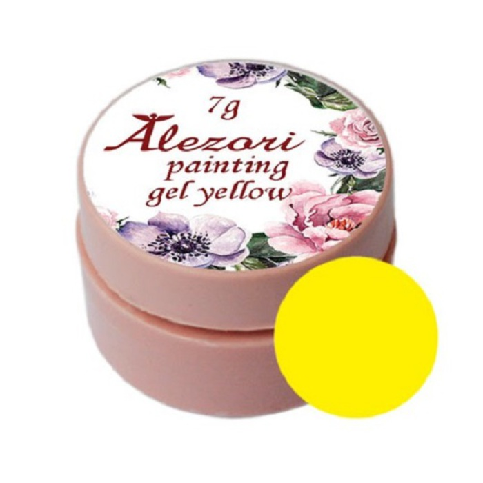 Alezori Painting Gel (paste) YELLOW 7gr