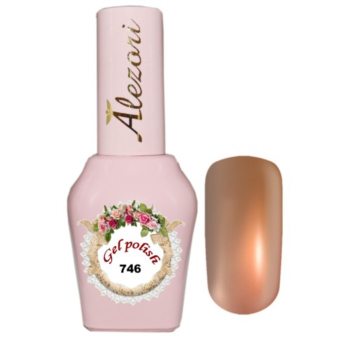 Alezori Gel Polish №746   15ml