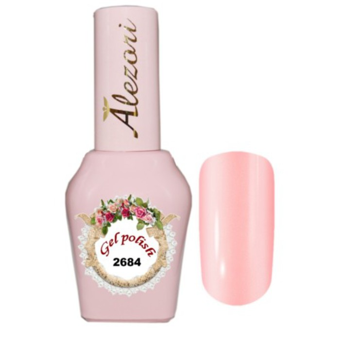 Alezori Gel Polish №2684   15ml