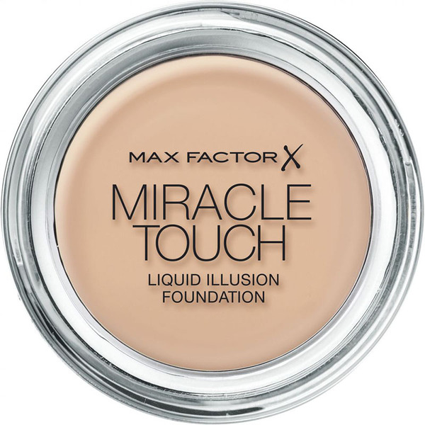 Max Factor Miracle Touch Liquid Illusion Foundation # 60 Sand