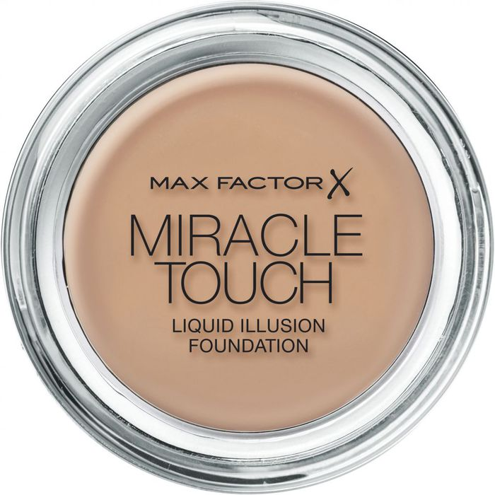 Max Factor Miracle Touch Liquid Illusion Foundation # 80 Bronze