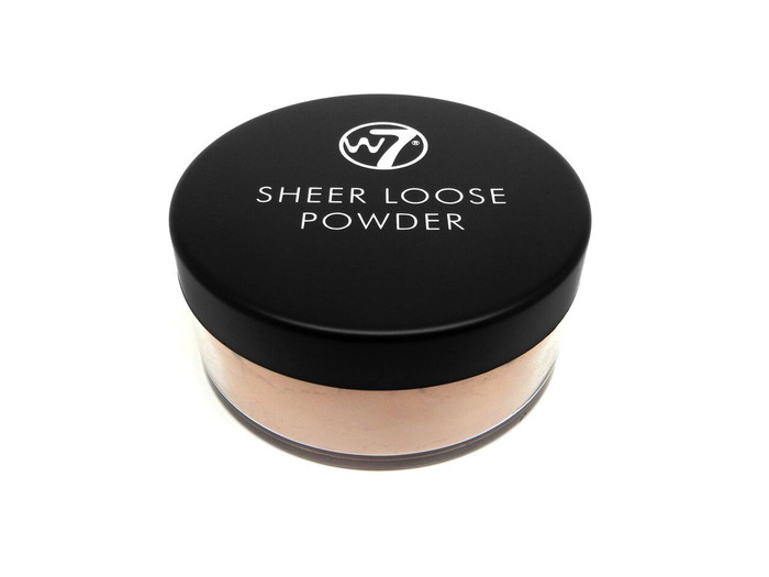 W7 Sheer Loose Powder # Biscuit