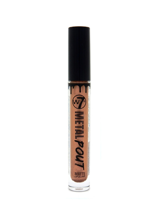 W7 Metal Pout Matte Lip Gloss # Heavy Metal