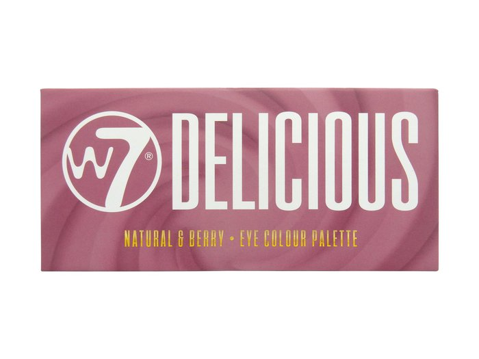 W7 Delicious Natural & Berry Eye Colour Palette