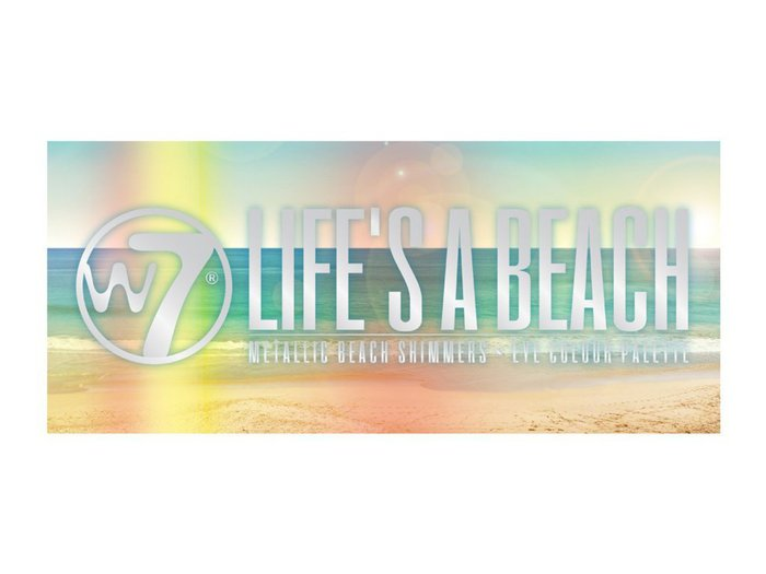 W7 Life's a Beach Metallic Beach Shimmers