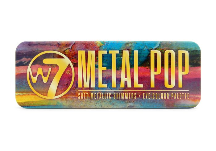 W7 Metal Pop Soft Metallic Shimmers