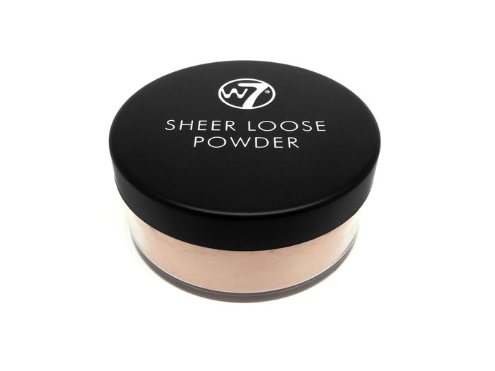 W7 Sheer Loose Powder # Honey