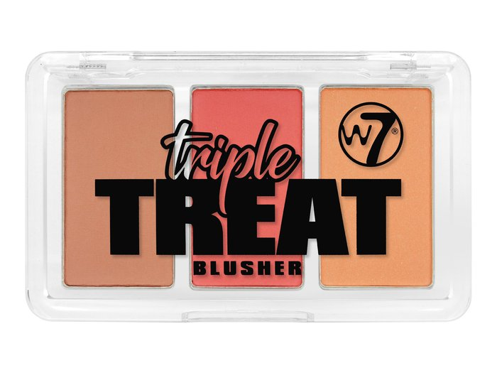 W7 Triple Treat Blusher # Lights, Camera, Action