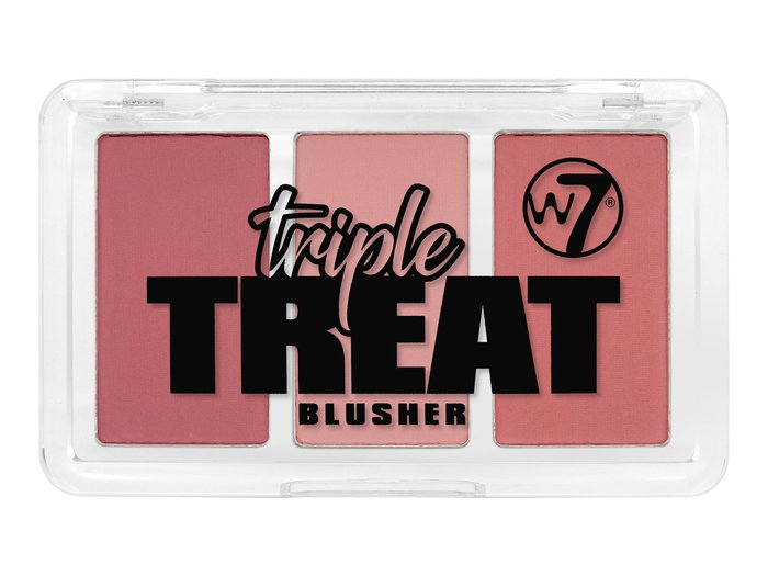 W7 Triple Treat Blusher # Live, Laugh, Love