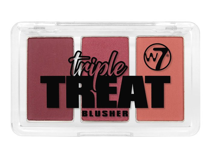 W7 Triple Treat Blusher # Ready, Set, Go