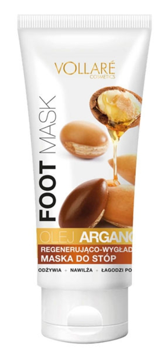 Vollare Regenerating And Smothening Foot Mask With Argan Oil