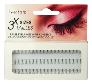 Technic Individual False Eyelashes 3 x Sizes