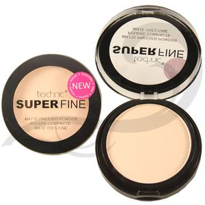 Technic Superfine Matte Pressed Powder # Snow White