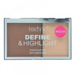 Technic Define & Highlight Contour Kit # Mocha