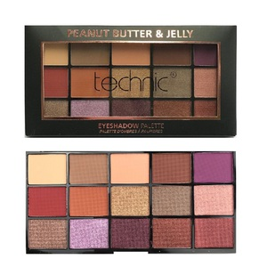 Technic 15 Eyeshadows Palette # Peanut Butter & Jelly