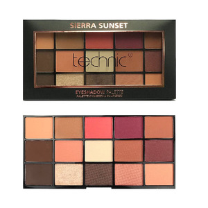 Technic 15 Eyeshadows Palette # Sierra Sunset