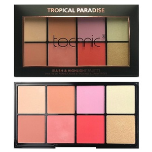 Technic Blush & Highlight Palette # Tropical Paradise