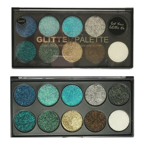 Technic Colours Pressed Glitter Palette # Mermaid