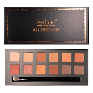 Technic 12 Colours Eyeshadow Palette # All Fired Up
