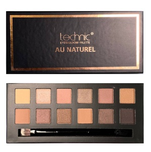 Technic 12 Colours Eyeshadow Palette #  Au Naturel