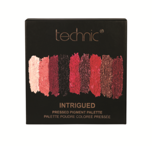 Technic Pressed Pigments Eyeshadow Palette # Intrigued