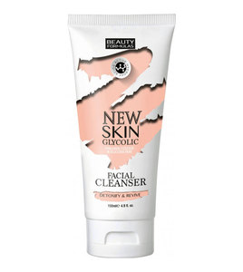 Beauty Formulas  Facial Cleanser New Skin Glycolic