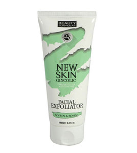 Beauty Formulas Facial Scrub New Skin Glycolic