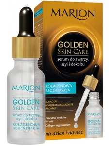 Marion Golden Skin Care Face & Neckline Serum Collagen