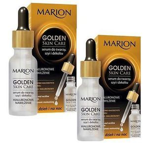 Marion Golden Skin Care Face & Neckline Serum Hyaluronic